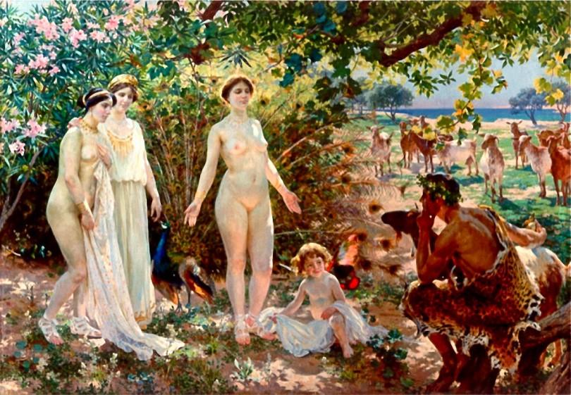 Enrique_Simonet_El_Juicio_de_Paris_-_1904