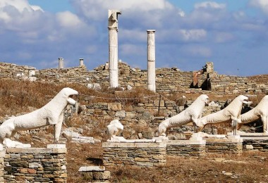 Delos -Terrace_of_the_Lions -
