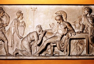 Achilles - Priam - www.thorvaldsensmuseum.dk