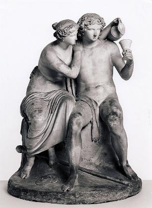 Bert Thorvaldsen - 1798 - Bacchus and Ariadne
