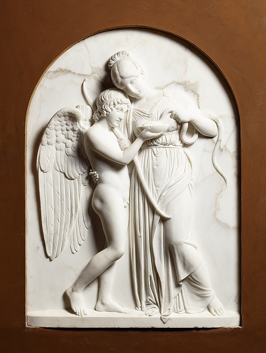 Bert Thorvaldsen - 1837 - Cupid and Hygieia