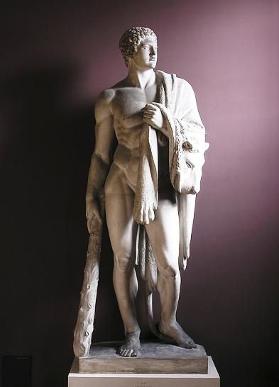 Bert Thorvaldsen - 1843 - Hercules