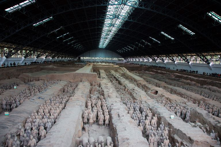 Terracotta Warriors - China