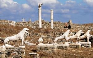 Delos -Terrace_of_the_Lions -