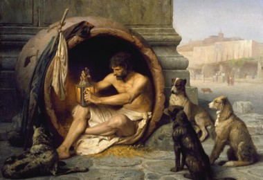 Diogenes - Jean-Léon Gérôme
