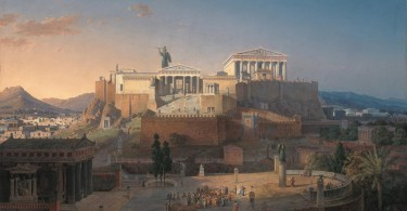 The Acropolis of Athens by Leo von Klenze