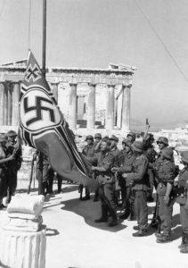 Athens Acropolis Nazi Flag