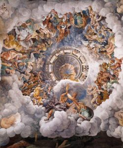 Giulio Romano View of the Sala dei Giganti