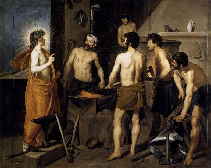The Forge of Vulcan - Velazquez