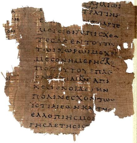 Herodotus Papyrus Oxyrhynchus