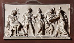 Bert Thorvaldsen - 1803 - Briseis and Achilles