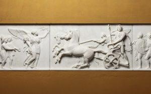 Bert Thorvaldsen - 1822 - Alexander the Great's Entry into Babylon