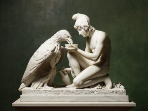 Bert Throvaldsen - 1817 - Ganymede with Jupiter's Eagle