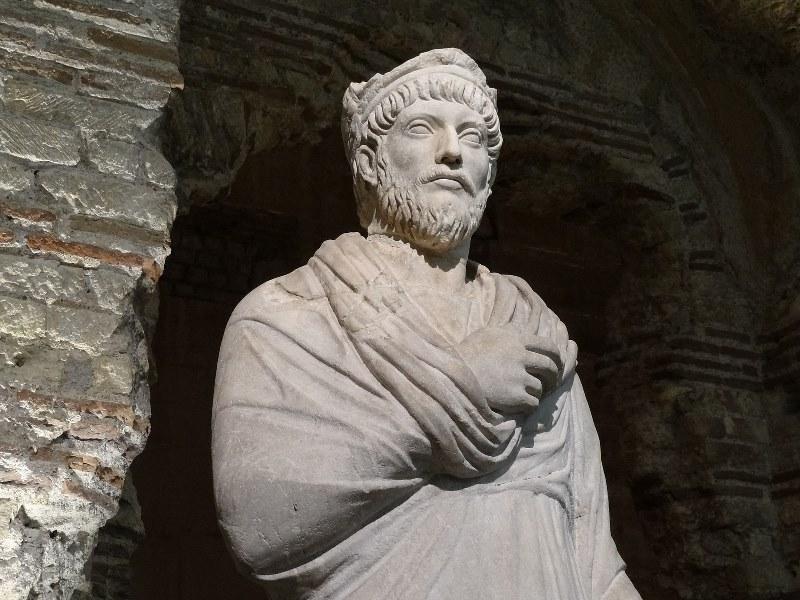 Flavius Claudius Julianus Augustus - Frigidarium du Musée de Cluny, Paris